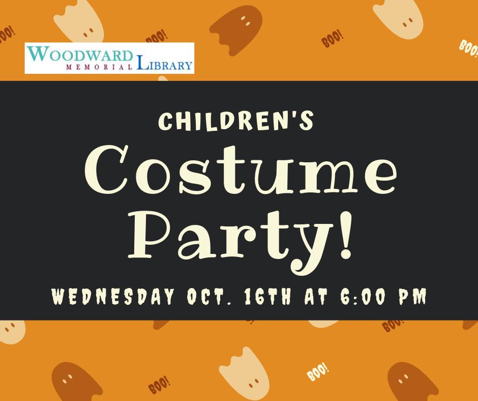 Kid's Costume Party!