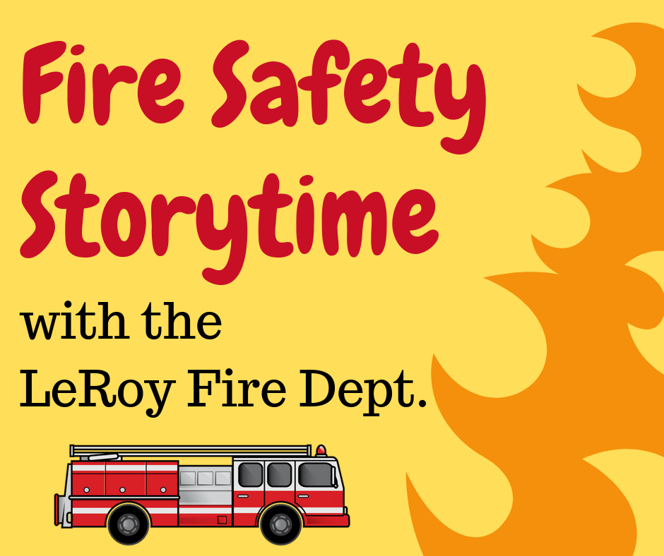 Fire Safety Storytime