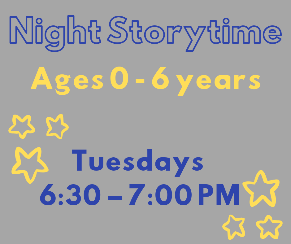 Night Storytime (All Ages)
