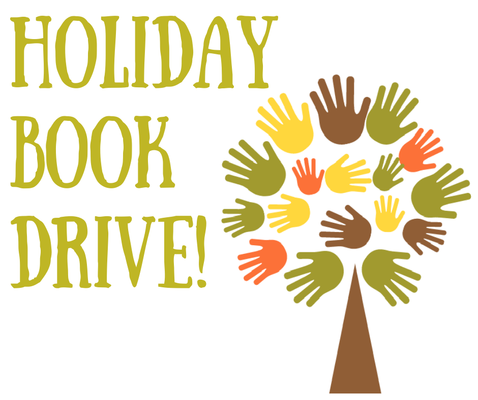 Holiday Book Drive Begins!