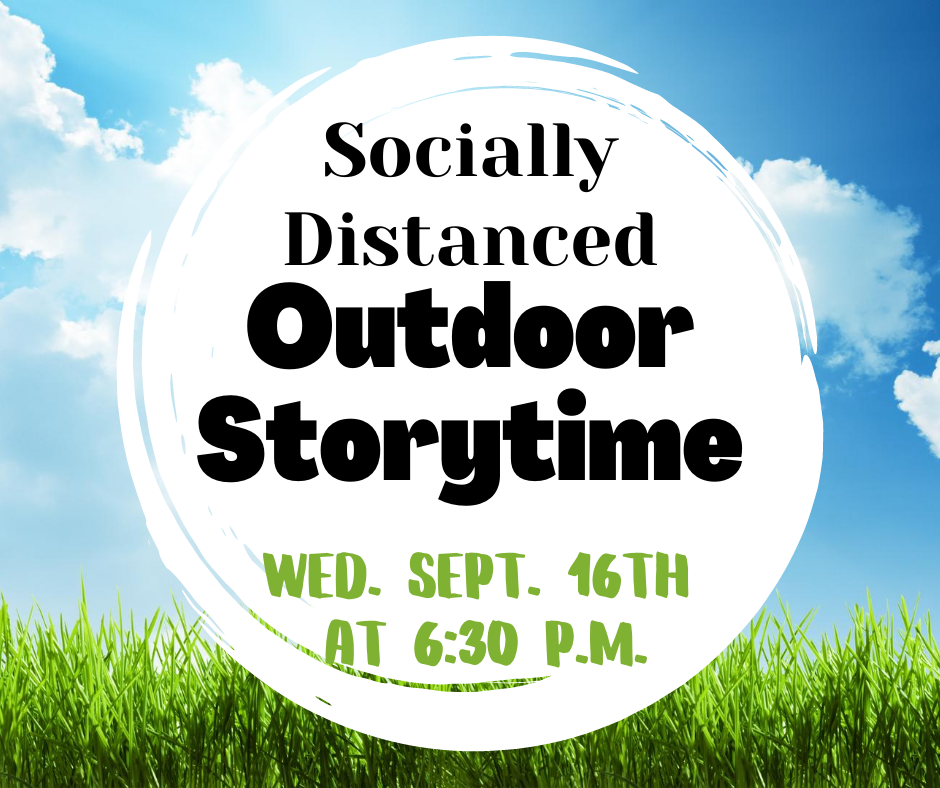Outdoor Storytime (Socially Distanced)