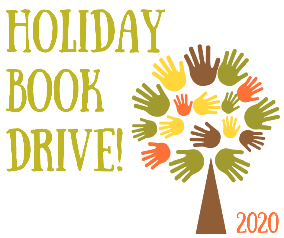 Holiday Book Drive Donations Due!