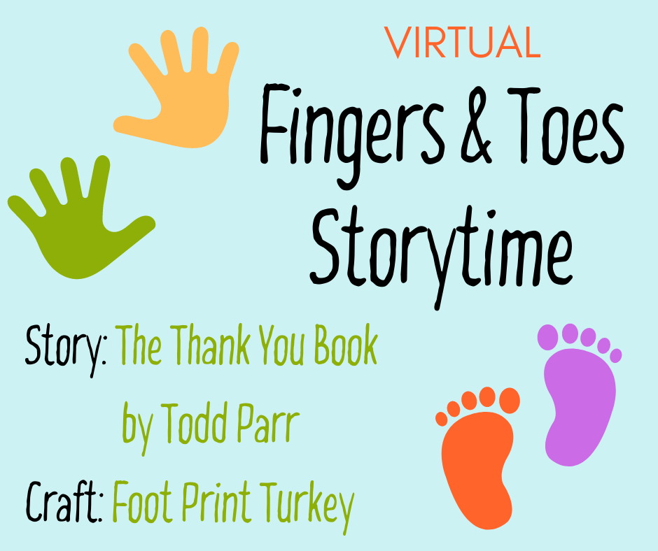 Fingers & Toes Storytime