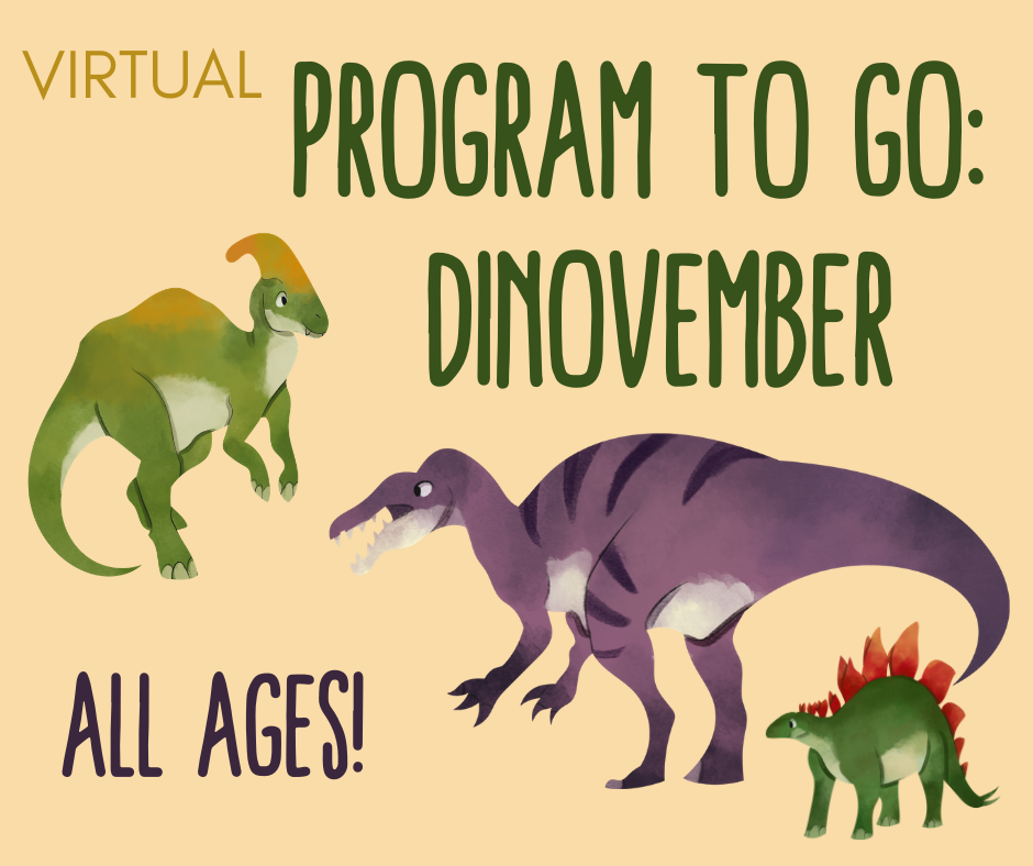 Program to Go: Dinovember