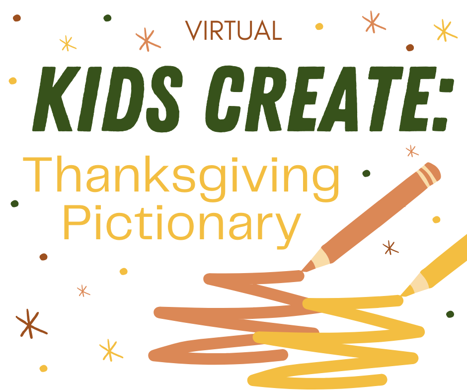 Kids Create: Thanksgiving Pictionary