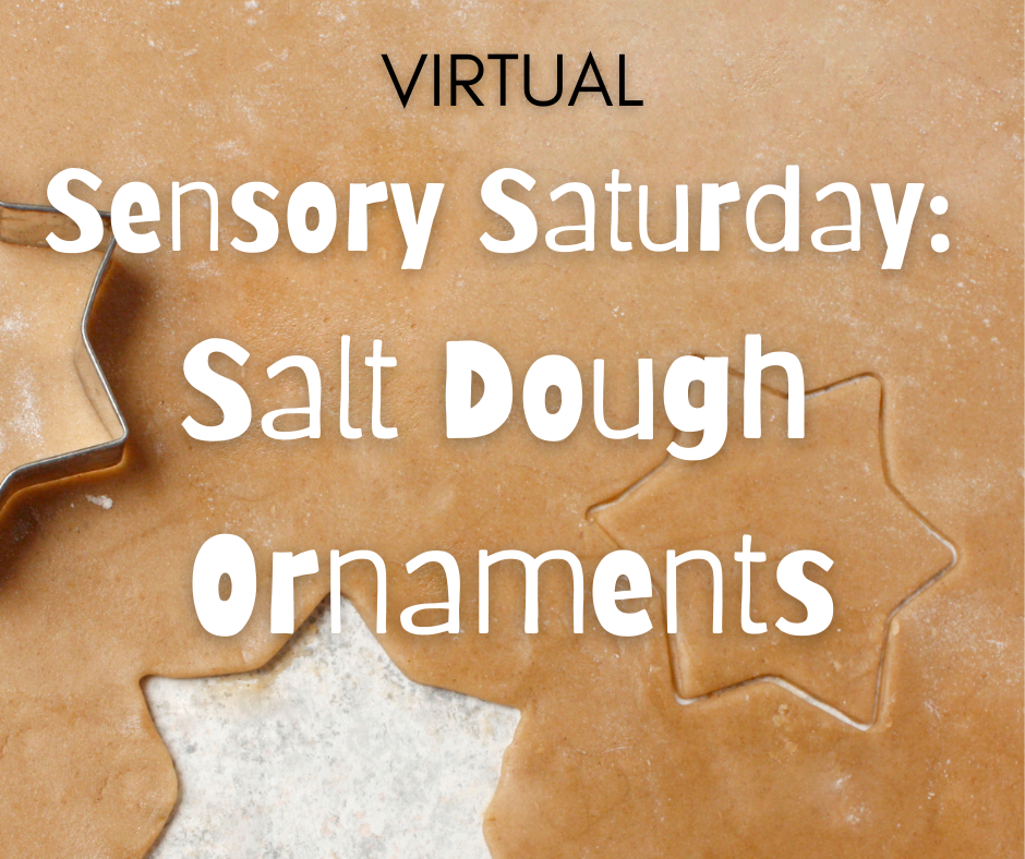 Sensory Saturday: Salt Dough Ornaments