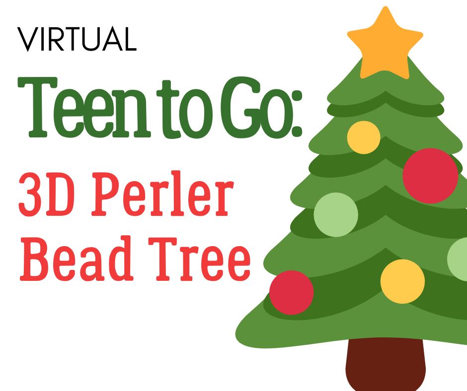 Teen to Go: 3D Perler Bead Tree