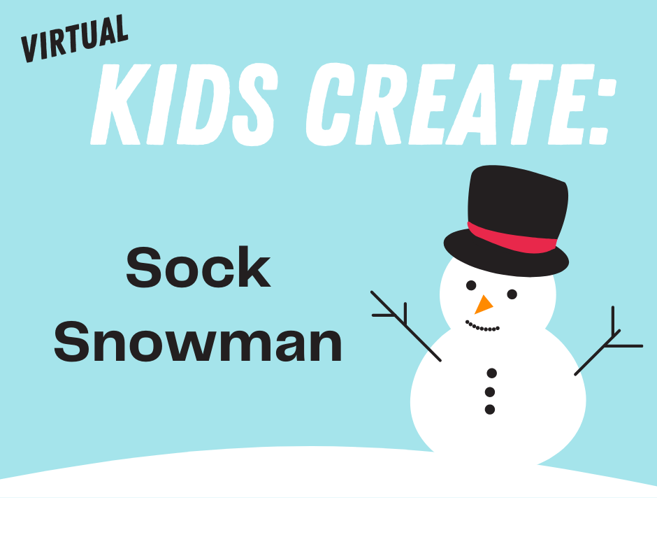 Kids Create: Sock Snowmen