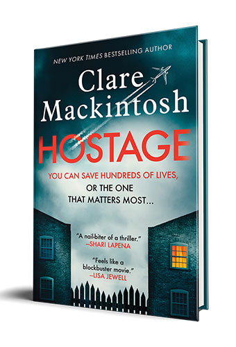 Online Mystery Book Club: Hostage by Clare Mackintosh