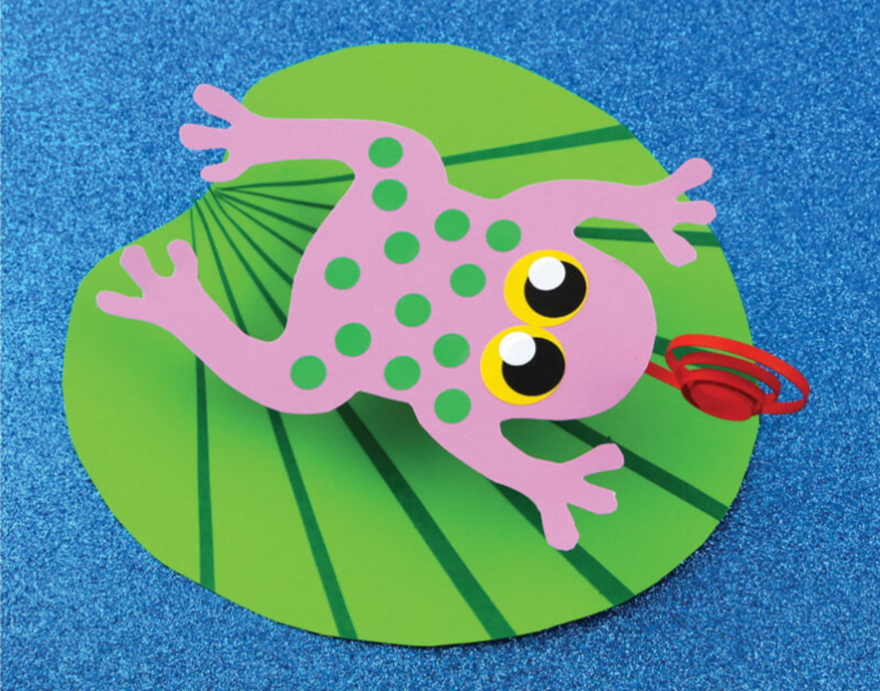Crafternoon: Frog on a Lily Pad