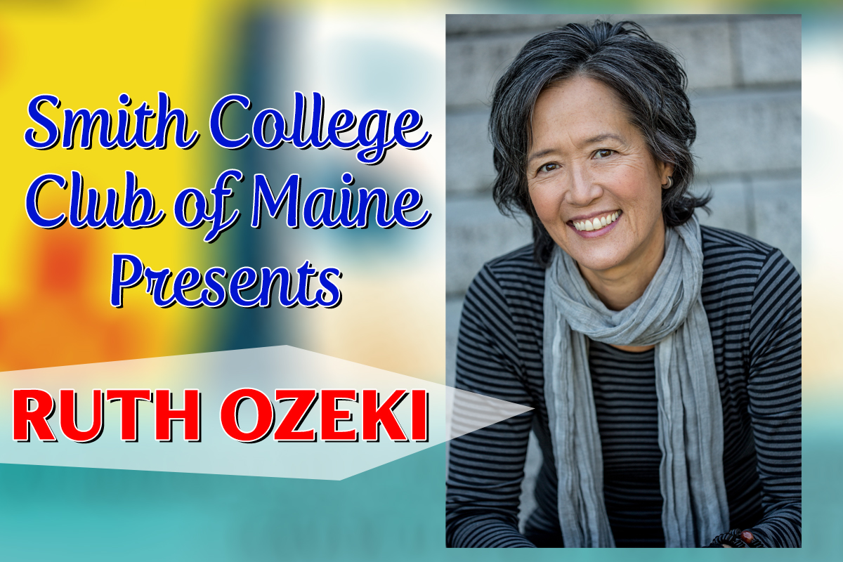 CANCELED Smith College Club of Maine presents Ruth Ozeki