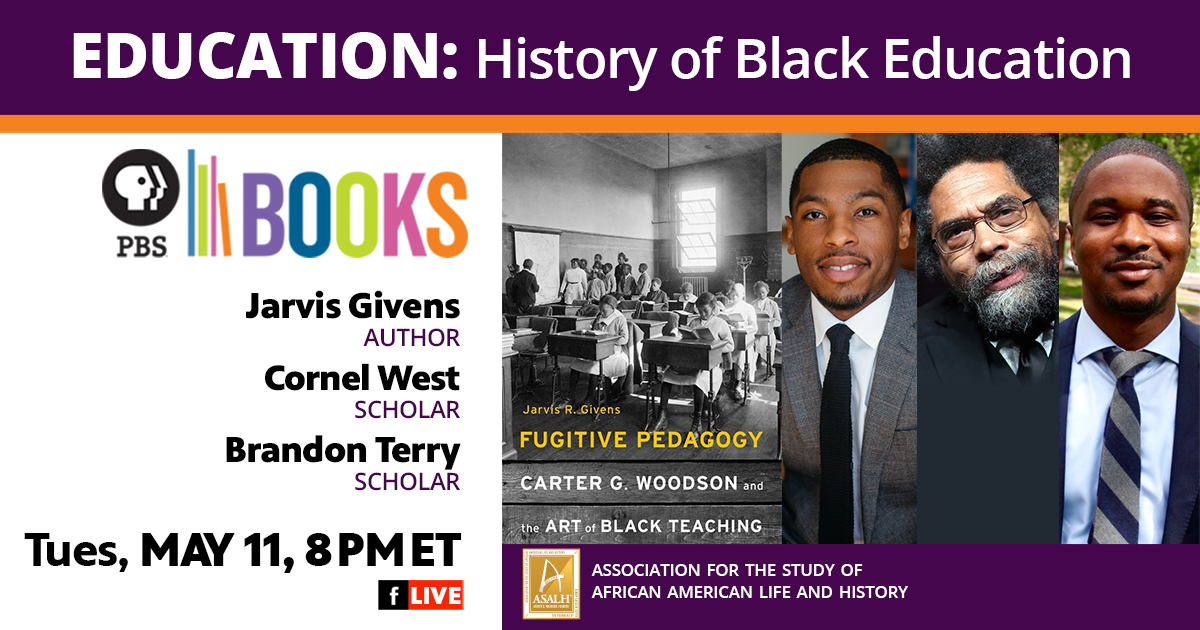 Author Talk with Jarvis Givens and Cornel West about Given's latest book