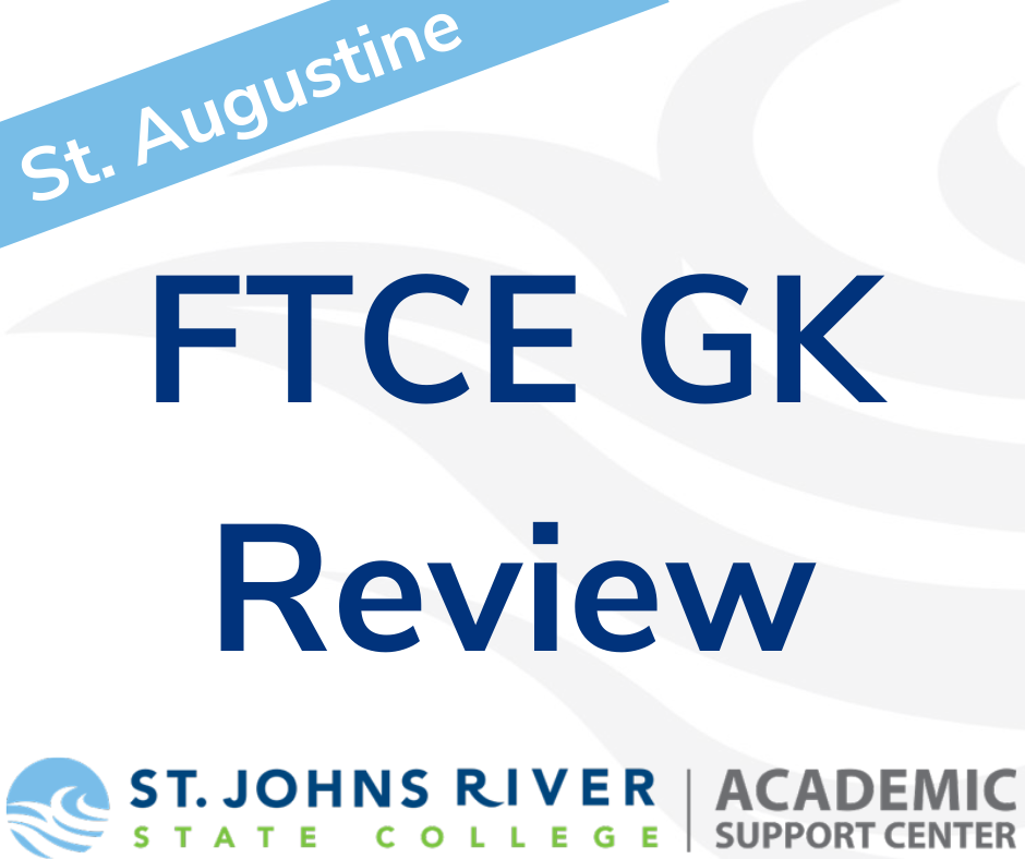 FTCE General Knowledge Exam Review