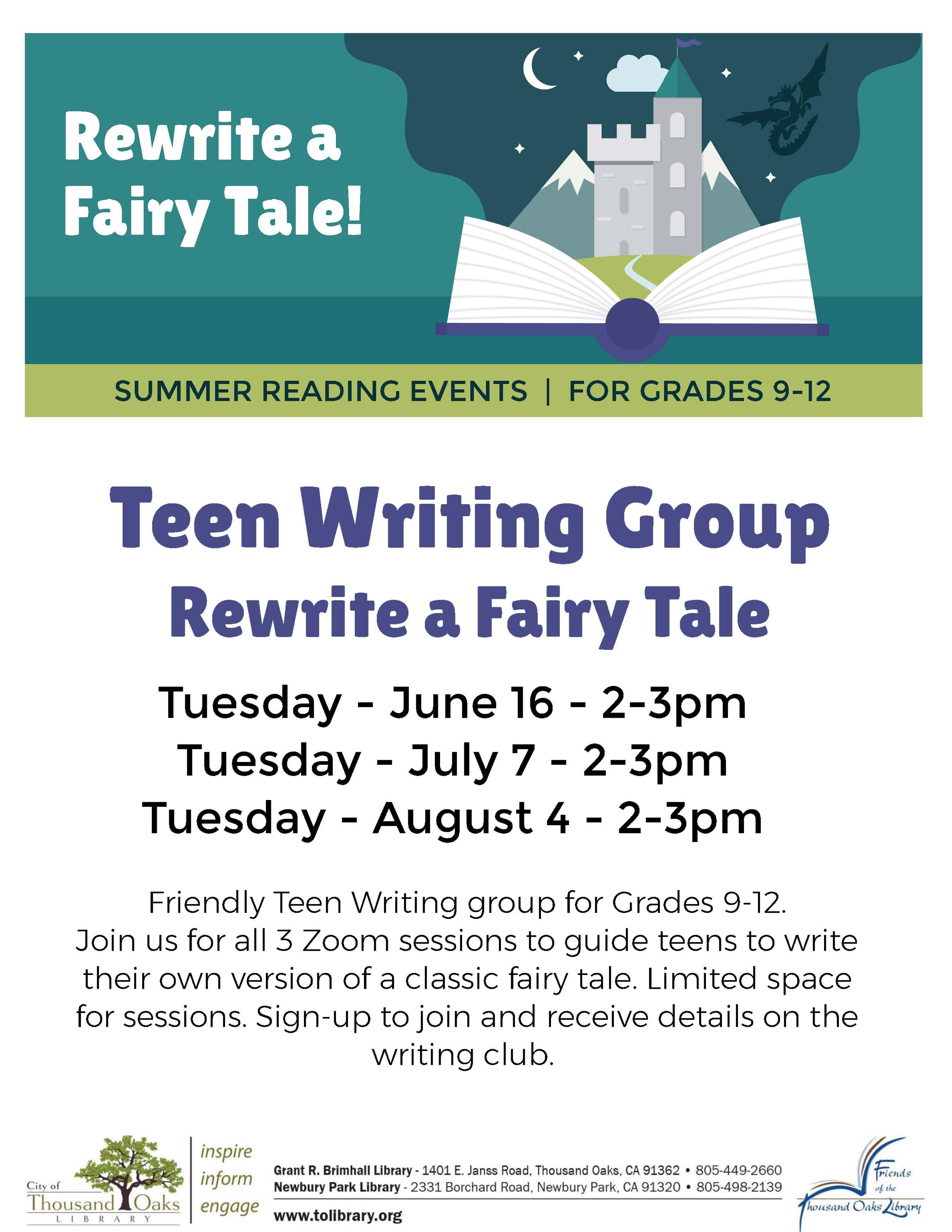 Rewrite a Fairy Tale