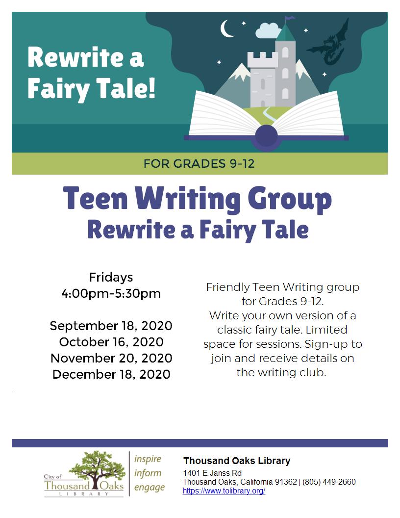 Rewrite a Fairy Tale - Teens