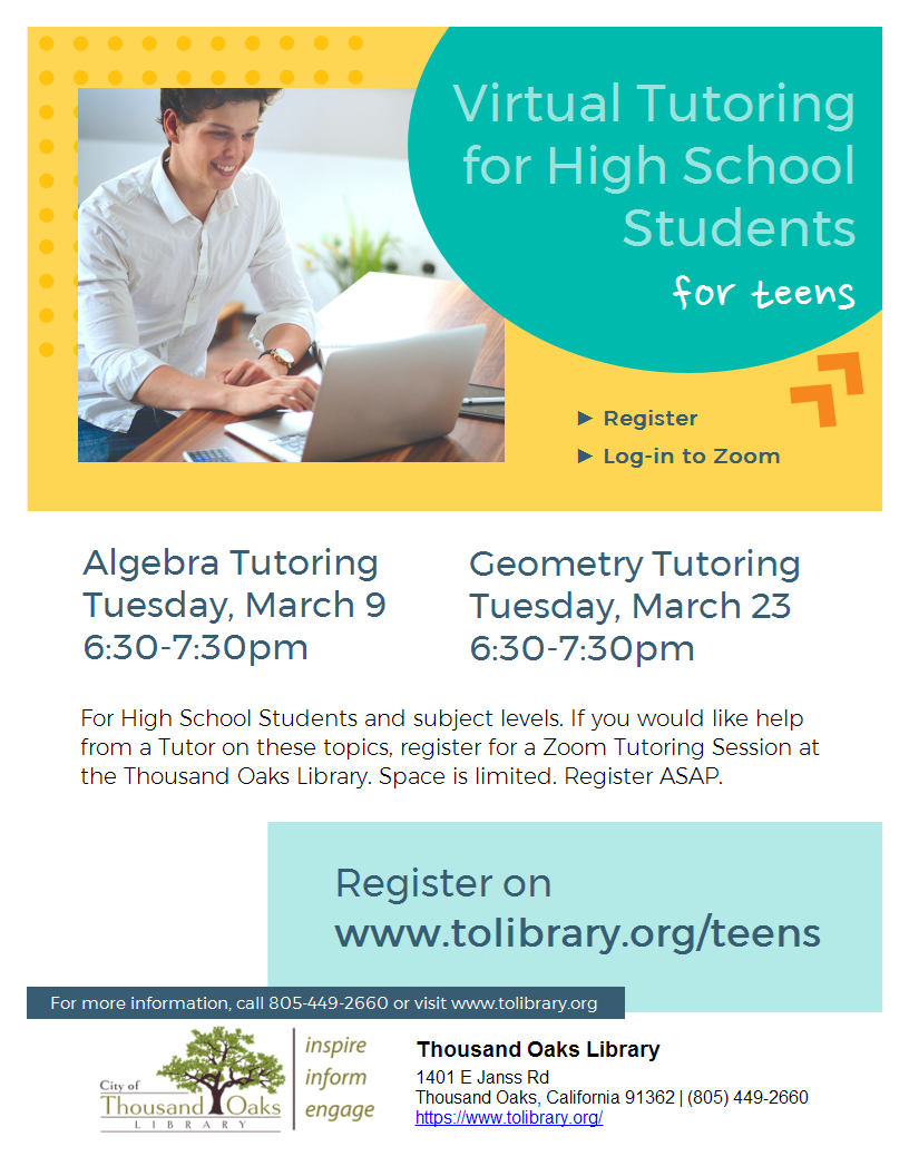 ALGEBRA Tutoring for High School Students