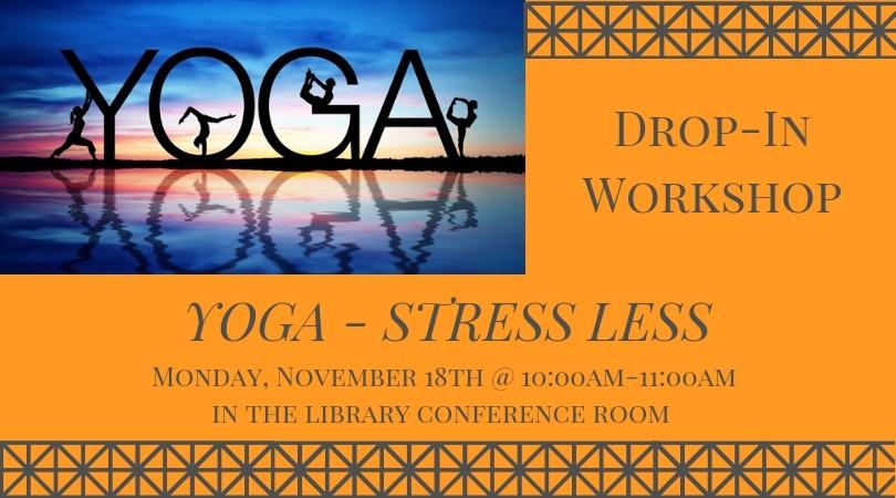 Yoga - Stress Less