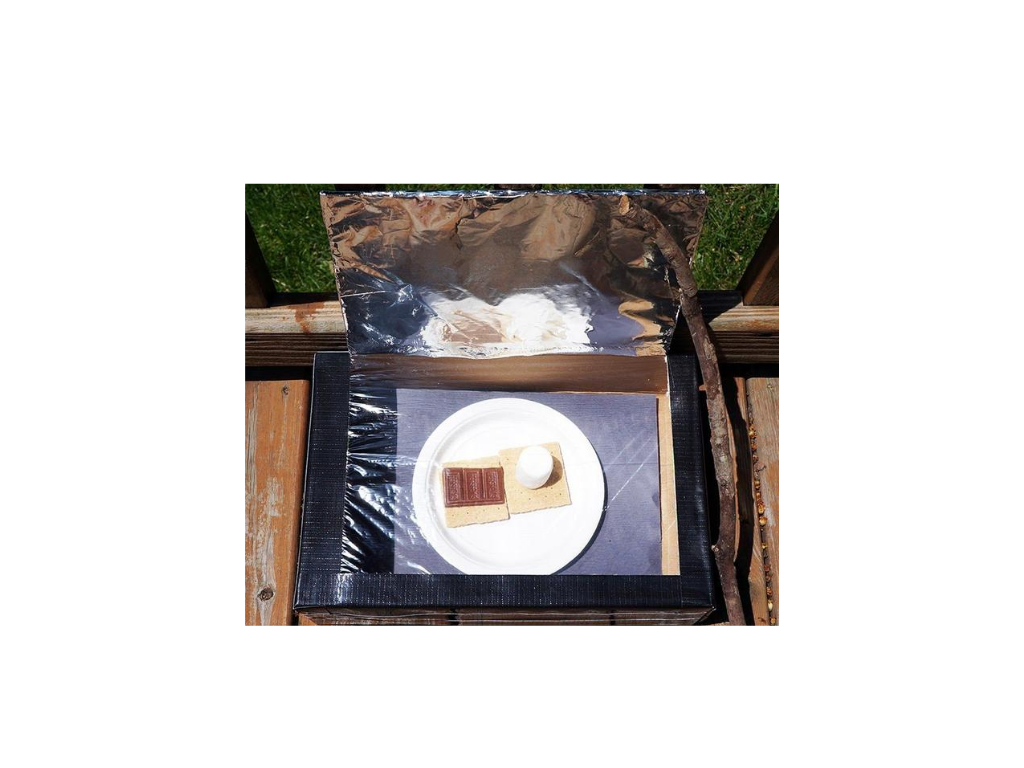 Children's Grab and Go Activity: Solar Powered S'mores!