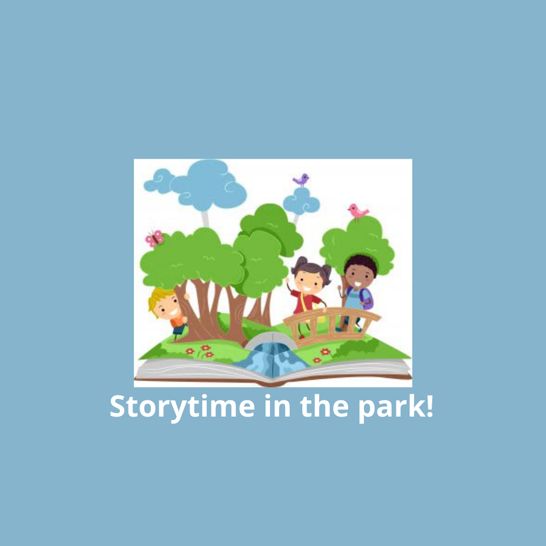Storytime in the park!