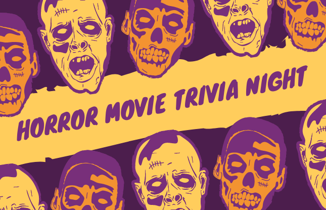 Virtual: Horror Movie Trivia Night (1970s - Present Day!)