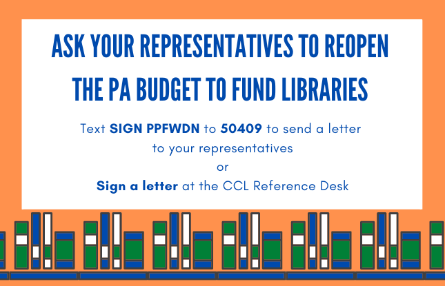 Save State Library Funding!