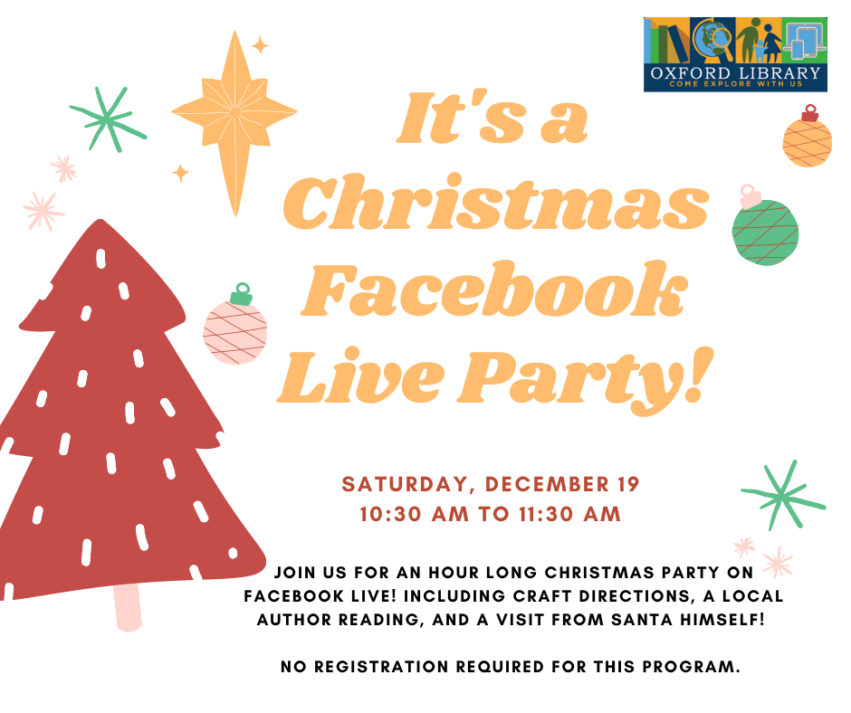 Christmas Facebook Live Party!