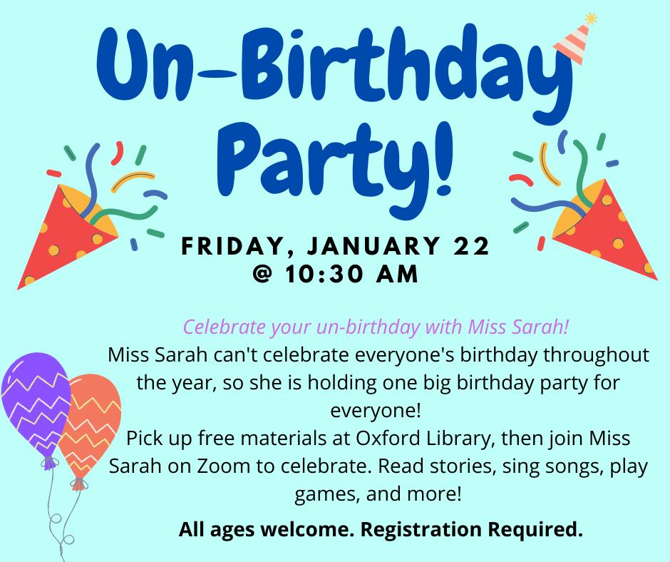 Un-Birthday Party!