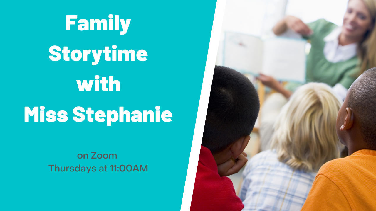 Family Storytime with Miss Stephanie