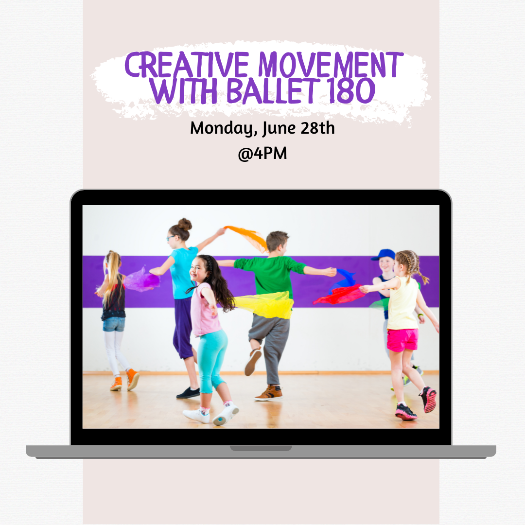Creative Movement with Ballet 180
