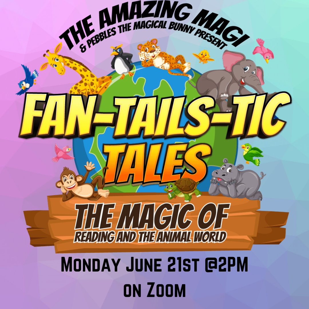 Fan-Tails-Stic Tales with the Amazing Magi