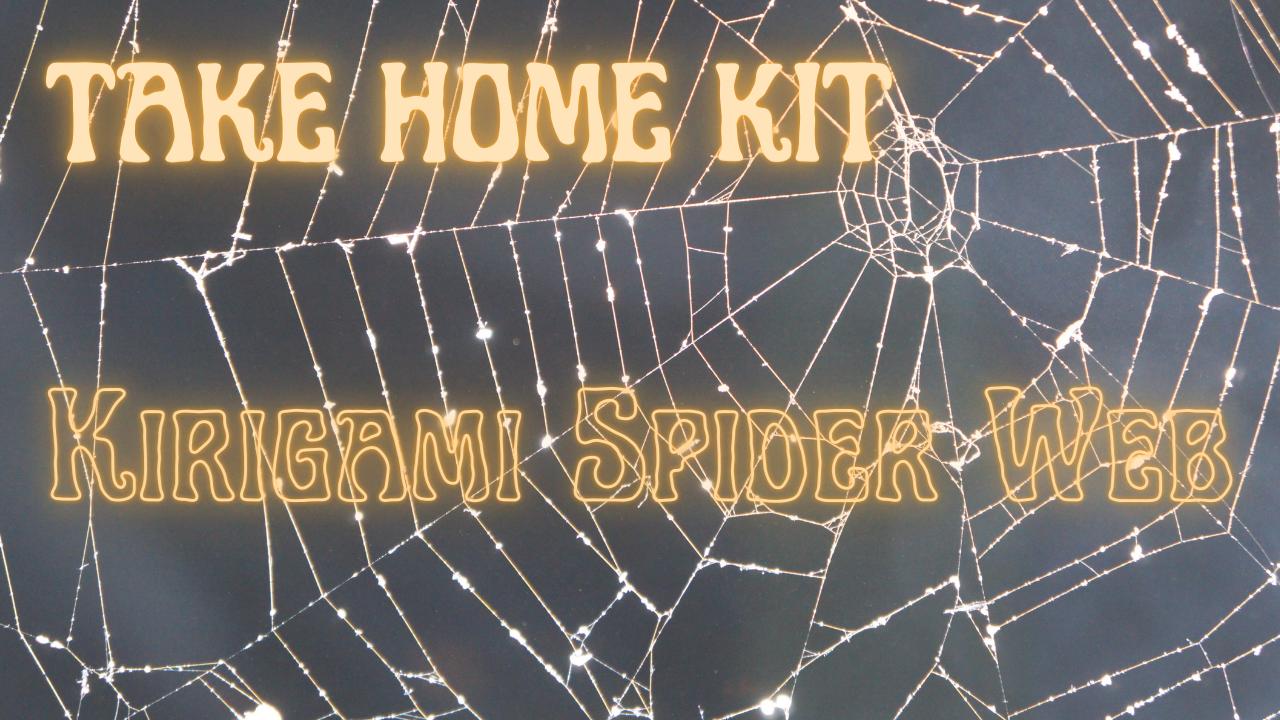Take Home Kit: Kirigami Spider Web
