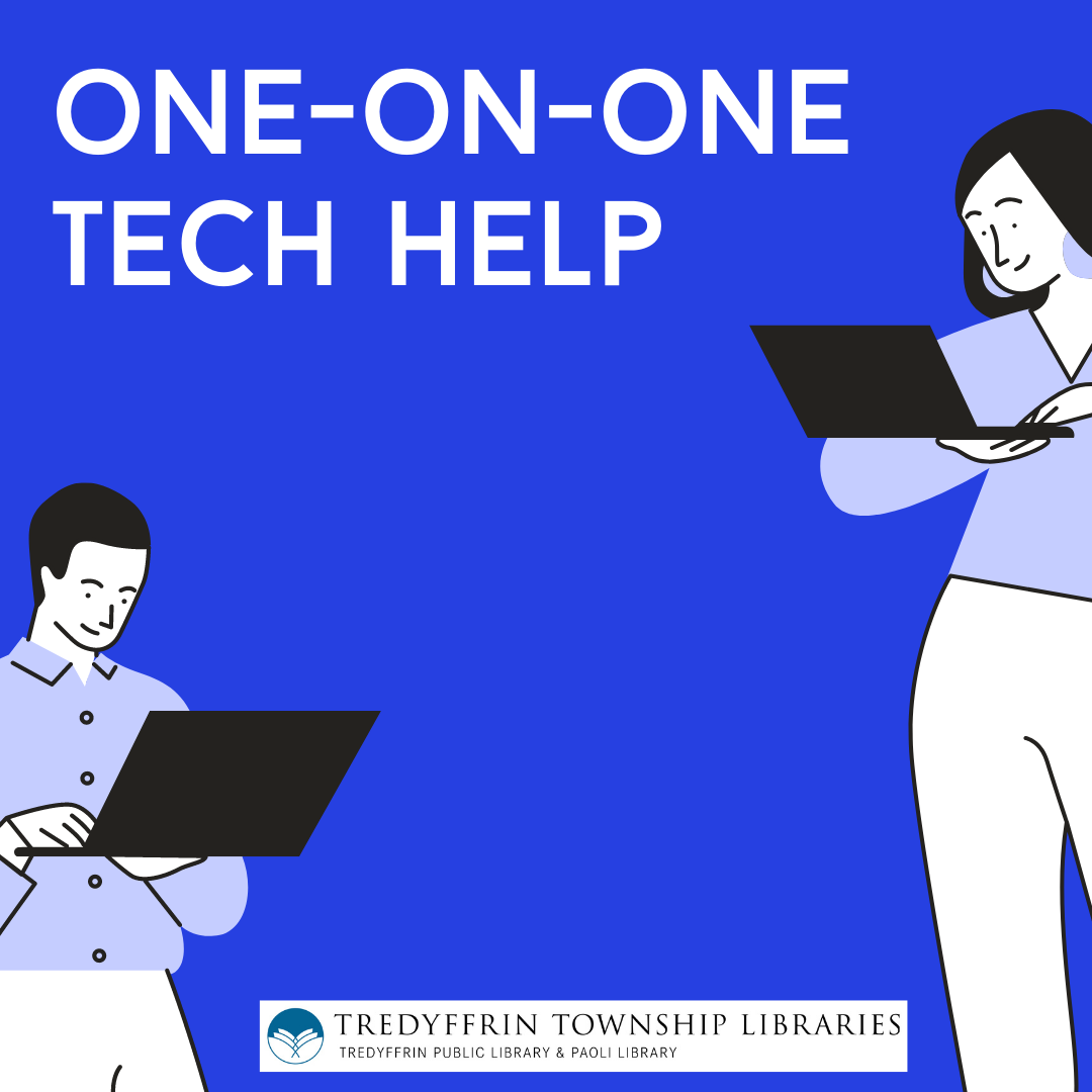 One-on-One Tech Help