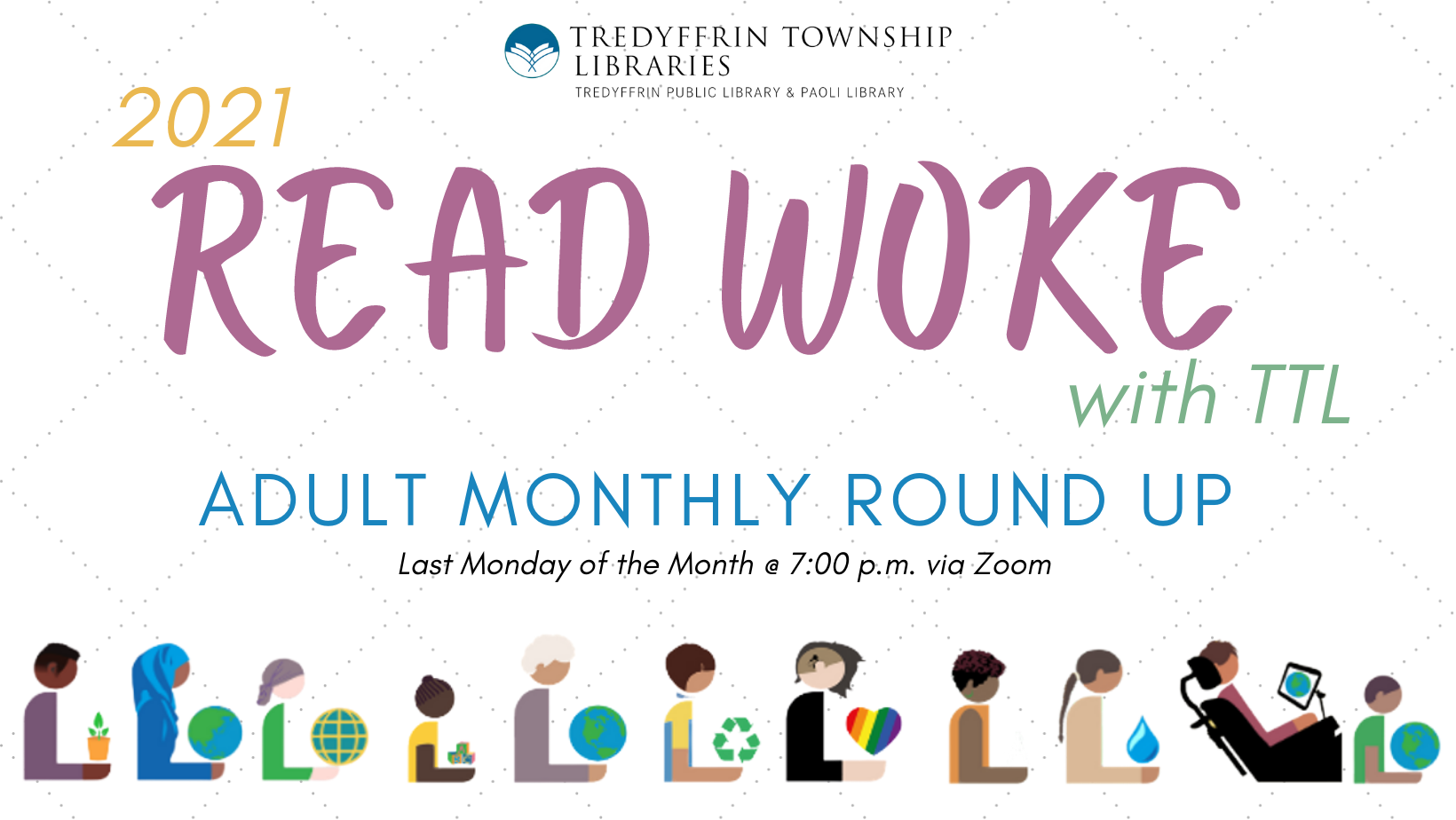 Read Woke with TTL Adult Monthly Round Up