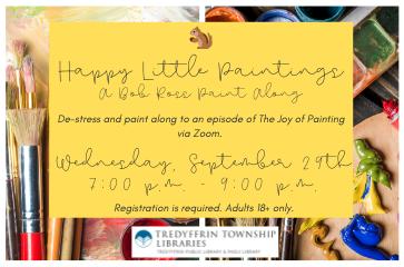 Happy Little Paintings: A Bob Ross Paint Along