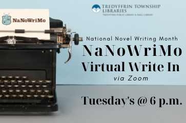 NaNoWriMo Virtual Write In