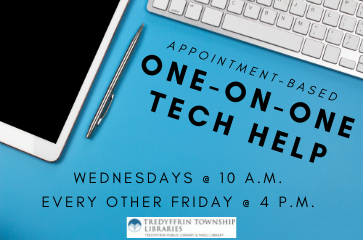 One-on-One Tech Session