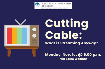 Cutting Cable: What is Streaming Anyway?