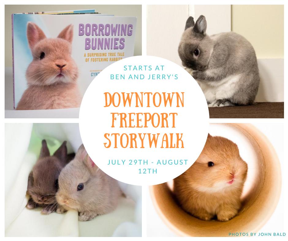 Downtown Freeport StoryWalk
