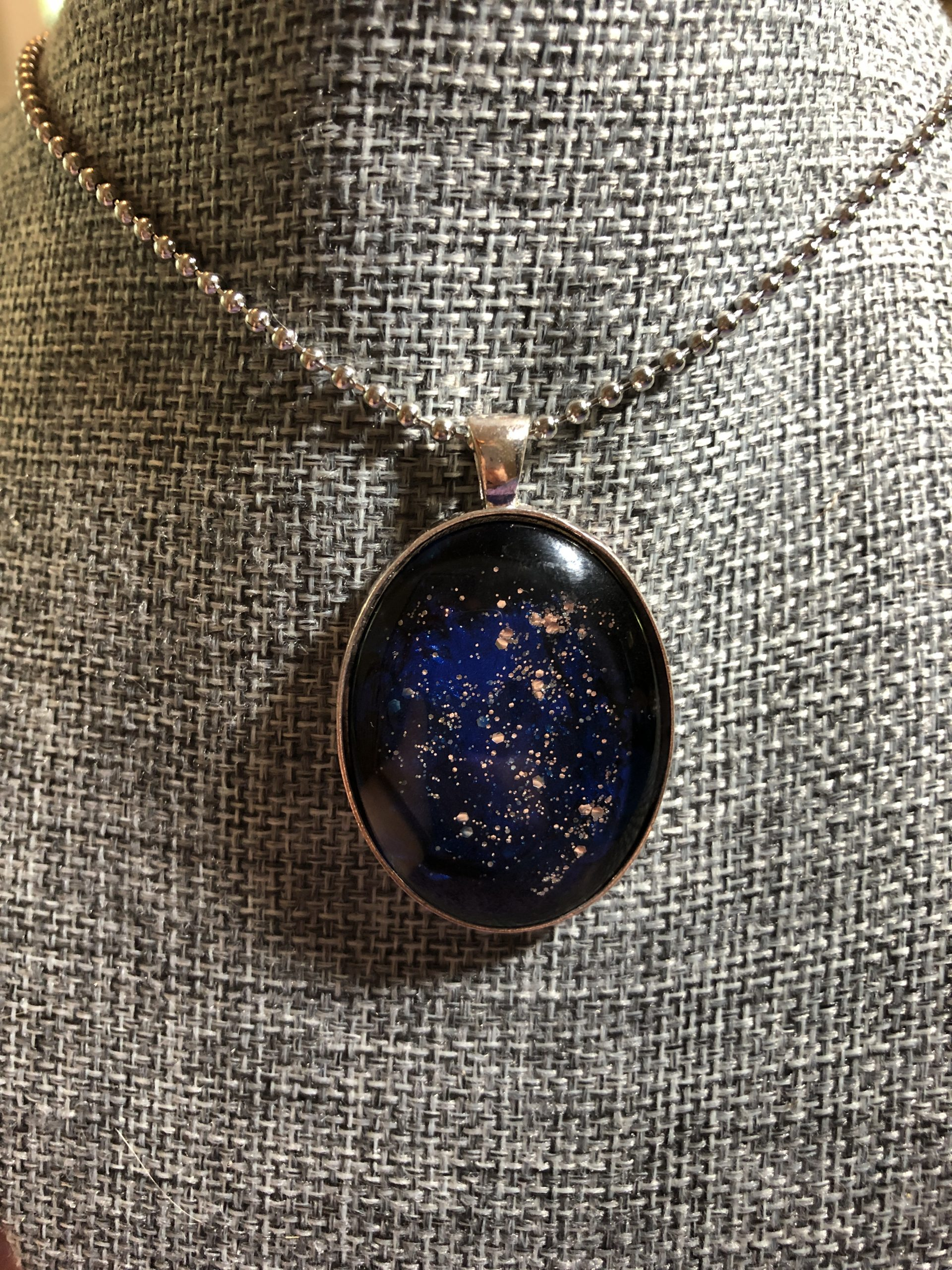 Adult and Teen Craft: Galaxy Cabochon Necklace Kit