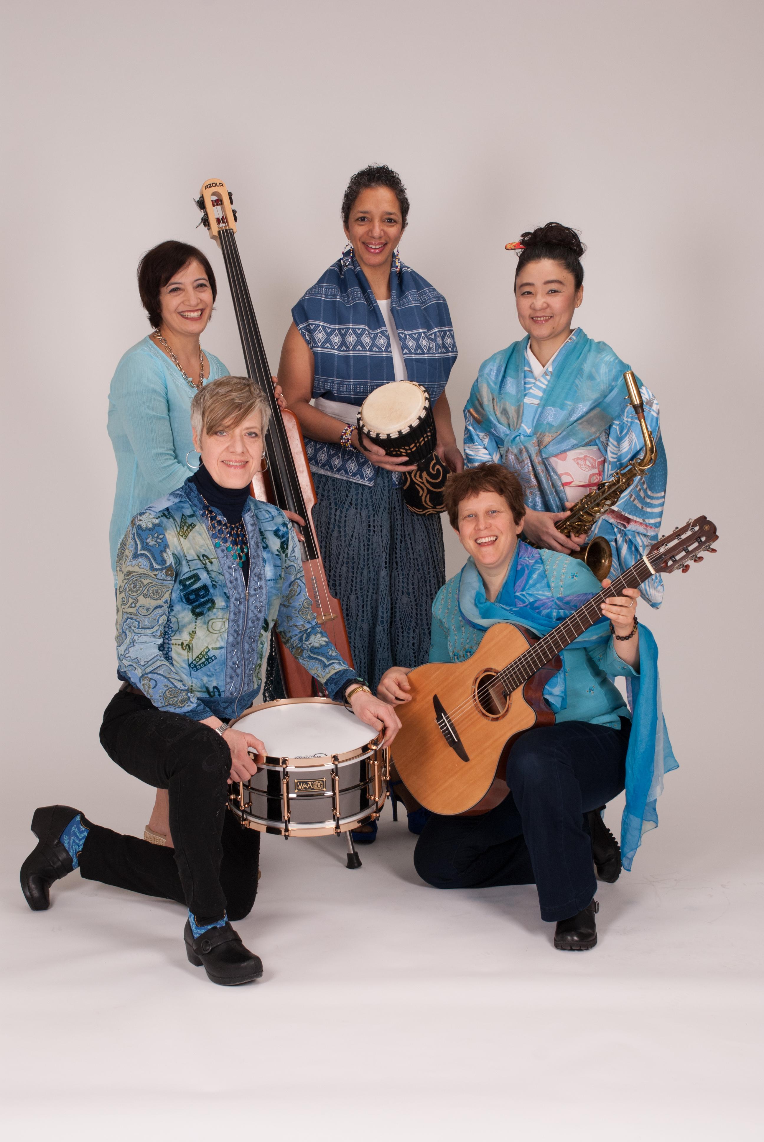 Virtual Summer Concerts at MacKay: Women in World Jazz