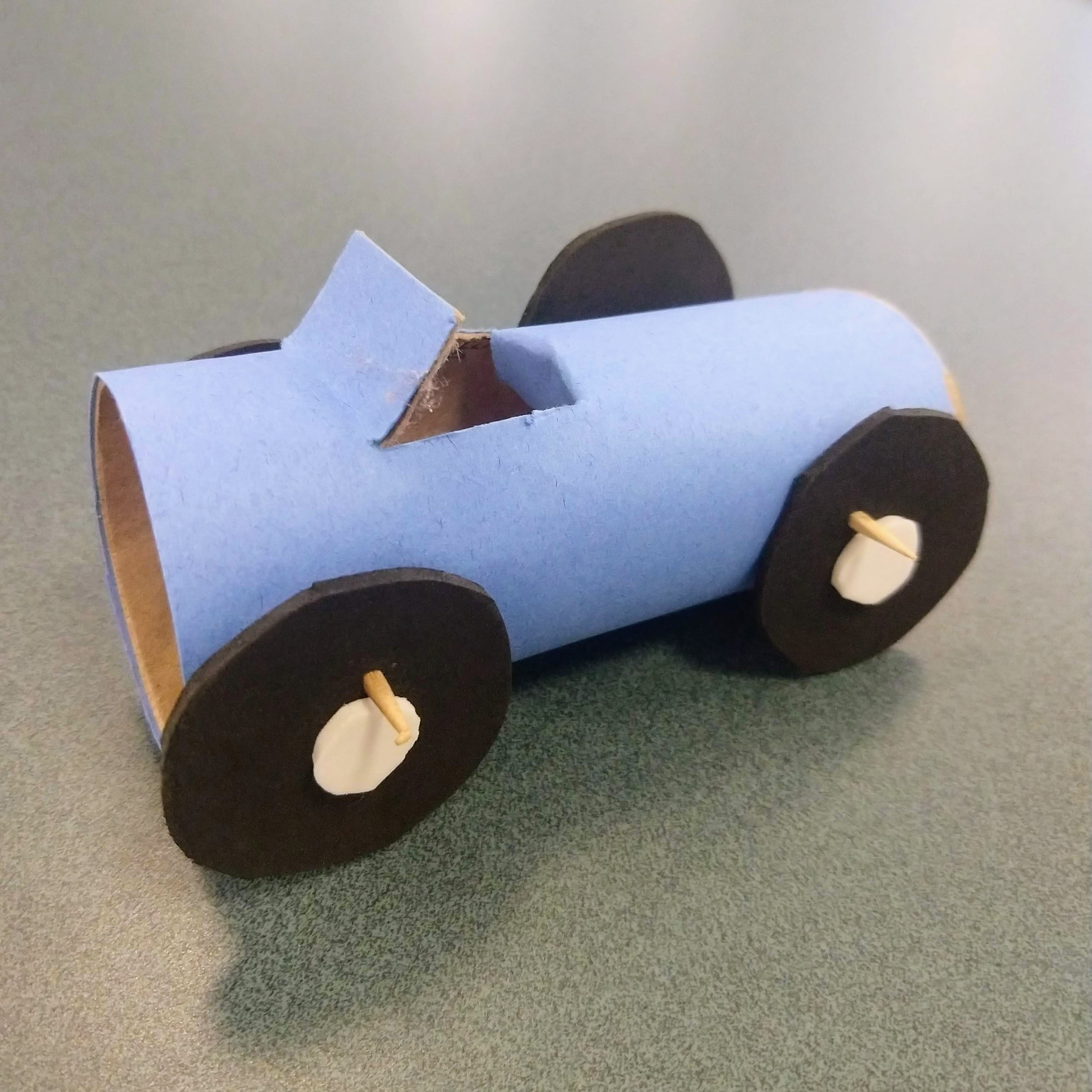 Summer Crafts on Zoom - TP Tube Cars (Ages 6+)