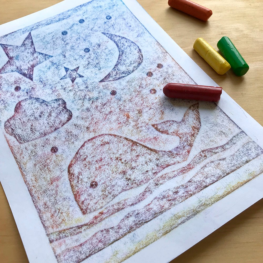 Summer Crafts on Zoom (Ages 6+) - Crayon Rubbings