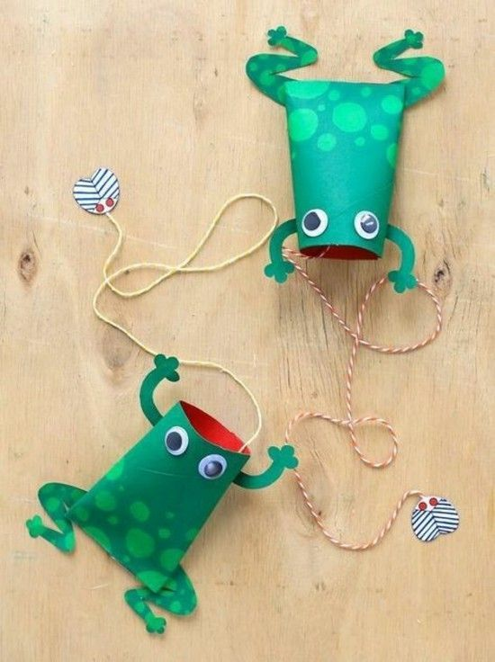Summer Crafts on Zoom (Grades K-6) Toilet Paper Tube Toy