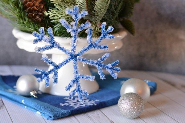 uCreate Grab 'n' Go Kit: Borax Snowflakes