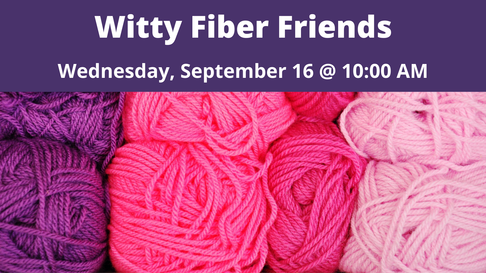 Witty Fiber Friends