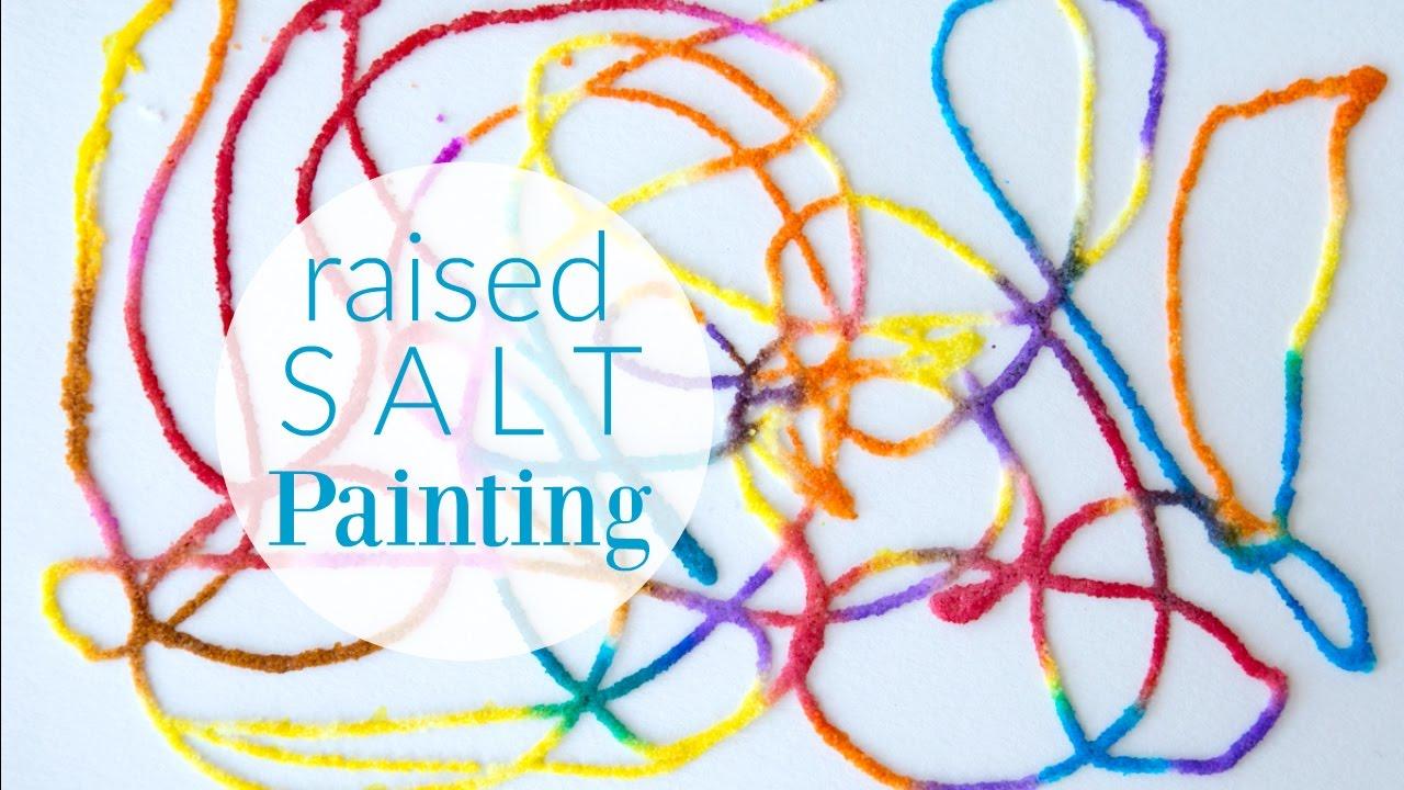 Kit: Salt Painting