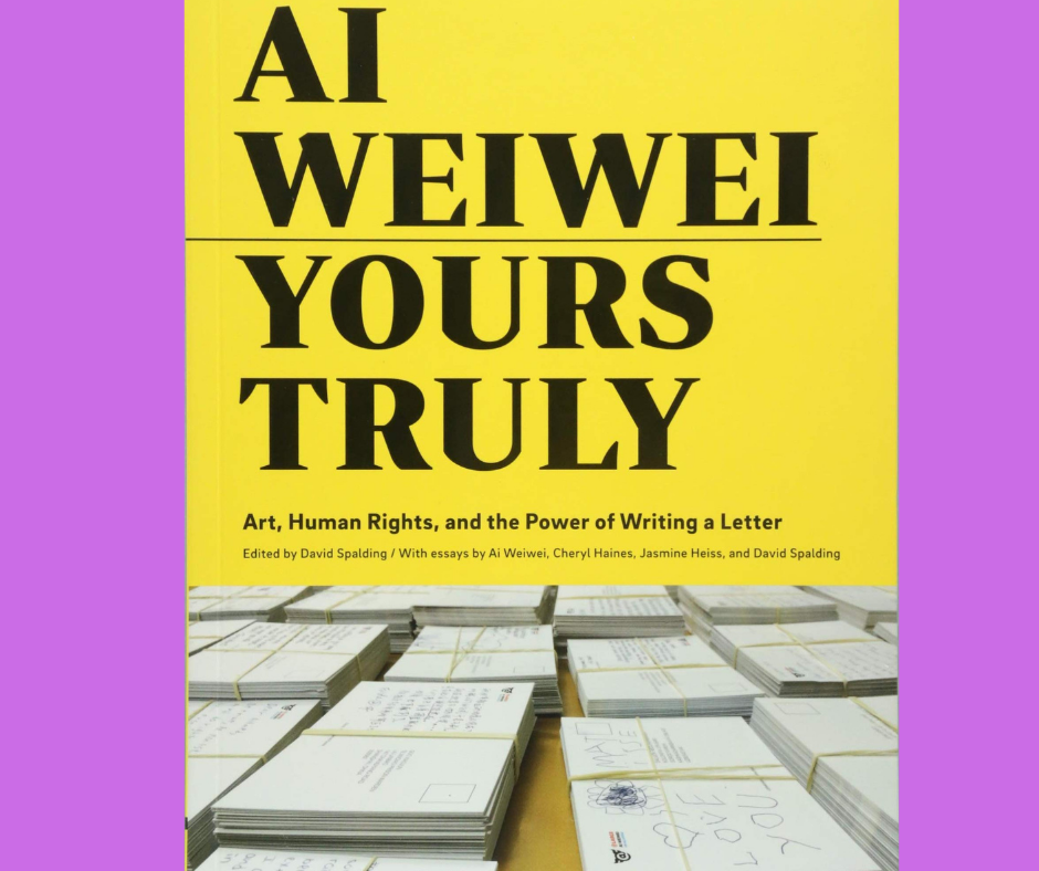 Book Discussion:  Yours Truly by Ai Weiwei