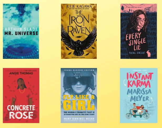 New Teen Books