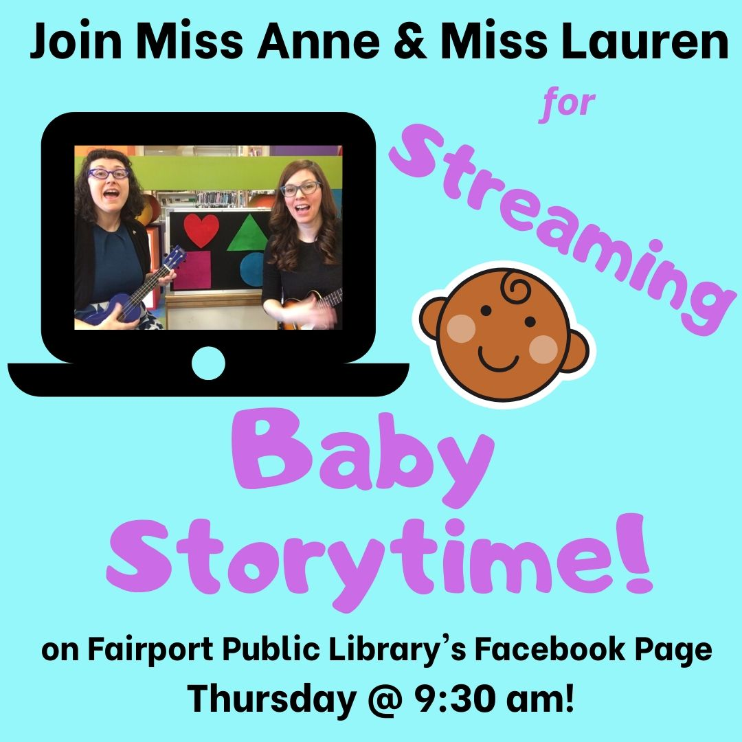 Streaming Baby Storytime (on Facebook)