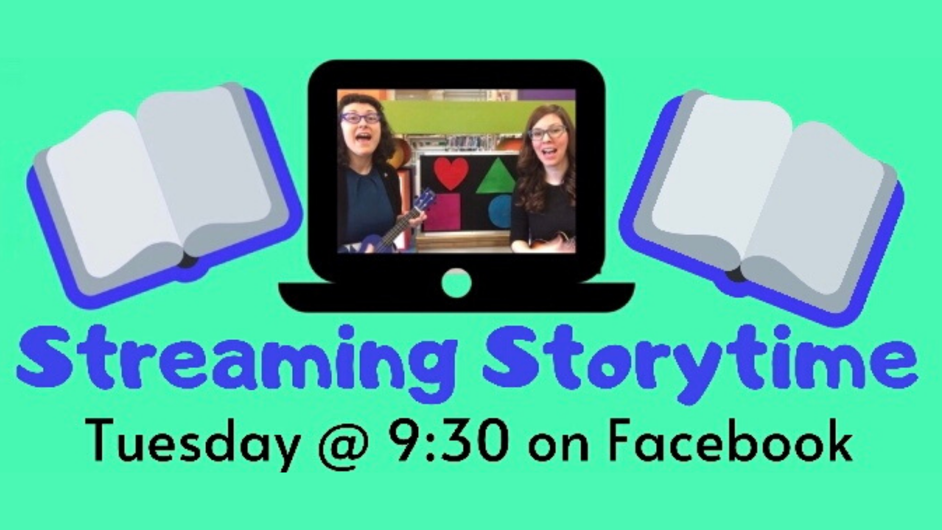 Streaming Storytime (on Facebook)